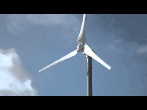 Anelion small wind turbine SW3.5-GT (Leipzig, Germany)
