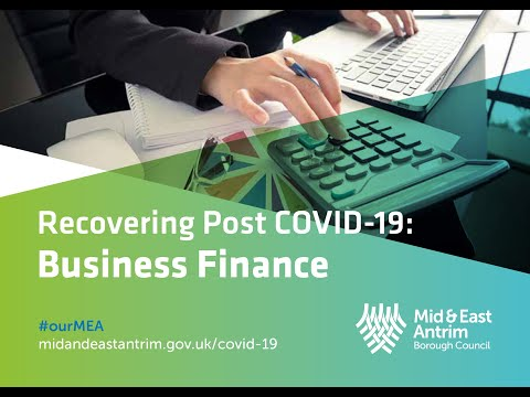 Recovering Post Covid-19 Business Finance Recording