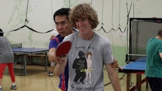 Beating Pingpong Master!