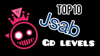 Top 10 just shapes and beats levels in gd