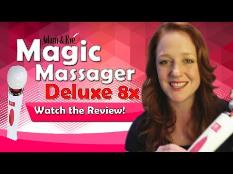 Magic Wand Massager Deluxe 8x Review | AdamAndEve.com Best-Selling Vibrator