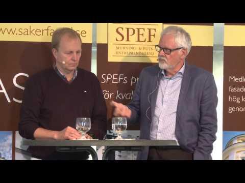 SPEF - Debatt i Almedalen - Slipper vi fuktskadade fasader nu?