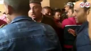 أخبار اليوم | وصول محمد راجح لبدء الجلسة الثالثة من قضية شهيد ...