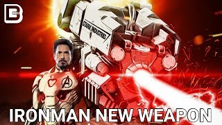 Avengers 4: Ironman New Weapon For New Villain | Explained In Hindi | BlueIceBear