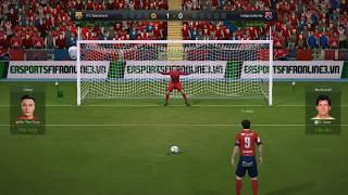 Những pha bắt penalty kinh điển của Bùi Tiến Dũng - FIFA Online 3 - Game bóng đá trực tuyến