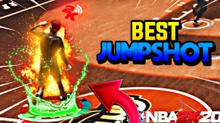 BEST JUMPSHOT IN NBA2K20 *NEVER MISS AGAIN* 100% GREENS ONLY