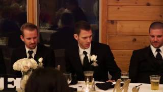 "Best Man Speech Fail ""My Brother's a Douche..."""