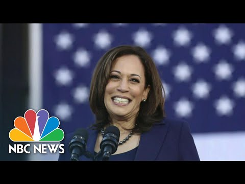 Kamala Harris Makes History As Vice President-Elect | NBC Nightly News