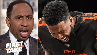 Stephen A. defends Odell Beckham: 'He is being victimized!' | First Take