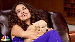 Pup Quiz with Salma Hayek