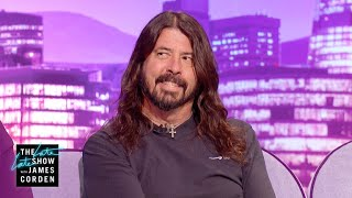 Taylor Swift Bailed Dave Grohl Out at a Paul McCartney Party - #LateLateLondon