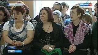 Омские одиннадцати- и девятиклассники на пороге последнего звонка