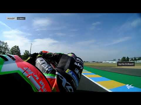 Aprilia Racing Team Gresini OnBoard: SHARK Helmets Grand Prix de France