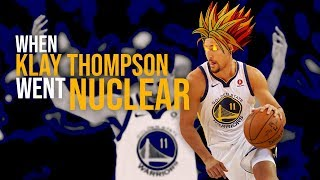 Moments Klay Thompson Went Nuclear