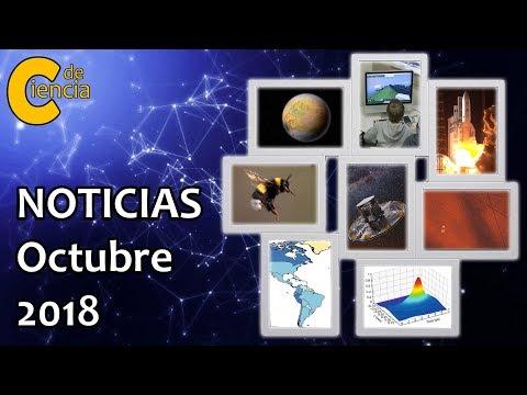 Noticias científicas octubre 2018
