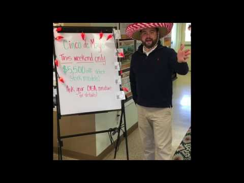 Watch Video of CINCO DE MAYO SALE