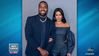 Kim Kardashian West Addresses Kanye's Mental Health   The View