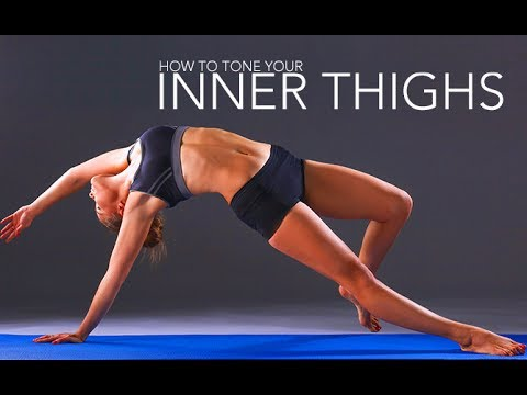 How To Tone The Inner Thighs (BEST INNER THIGH WORKOUT!!)