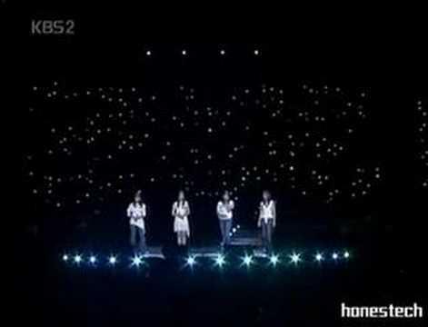 South Korean acapella group singer