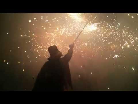 Sanaüja, el correfocs de la festa major