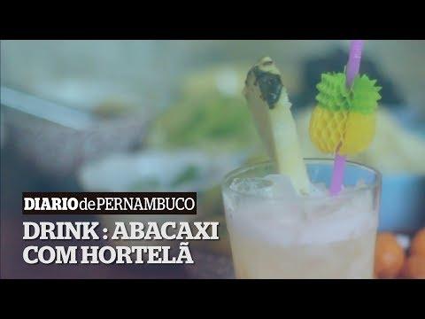 Drink da sexta: Abacaxi com Hortelã
