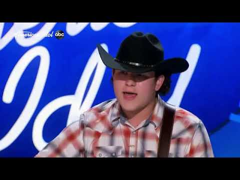 "Season 20 American Idol Caleb Kennedy ""Nowhere"" Blind Audition"