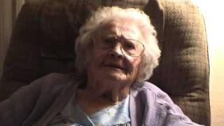 Caroline Interview at 103 Years Old