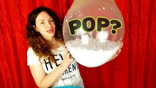 Making Floam Slime With Giant Balloons Popping - Izabela Stress
