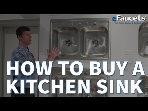 How to Buy a Kitchen Sink - eFaucets.com