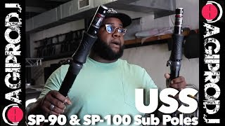 ULTIMATE SUPPORT SP-90 TeleLock Sub Pole in action