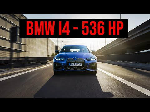 BMW i4 Driving and Electric Sound | First Electric M Model