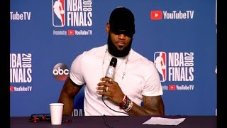 LeBron James | Game 4 NBA Finals Press Conference