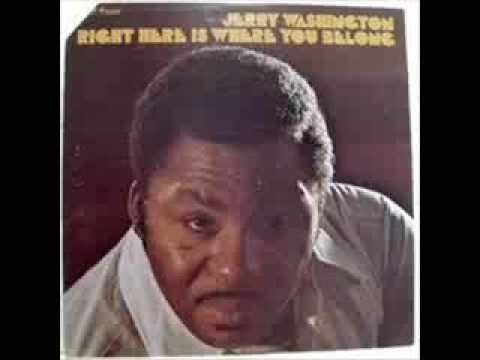 Jerry Washington Right here is were you belong