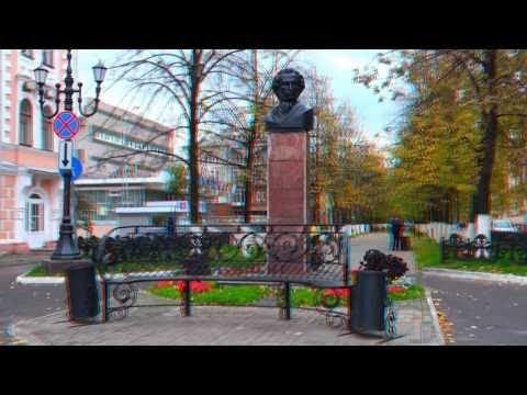 Вологда, памятник Пушкину 3D part2