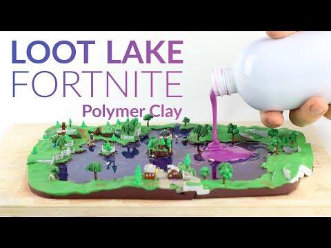 Loot Lake & Liquid Soap (Fortnite Battle Royale) – Polymer Clay Tutorial