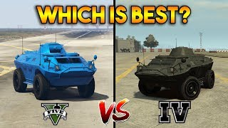 GTA 5 APC VS GTA 4 APC : WHICH IS BEST?