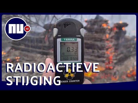 Stralingsniveaus rond Tsjernobyl zestien keer hoger door bosbranden   NU.nl
