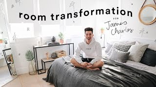 Extreme Bedroom Transformation for James Charles // Lone Fox