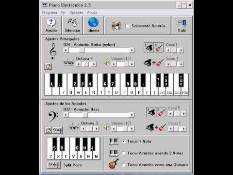 Agapornis- En el muelle de San Blas - Piano Electronico 2.5