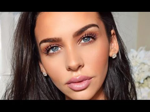 My Go To: DAYTIME FALL Mauve Makeup | Carli Bybel