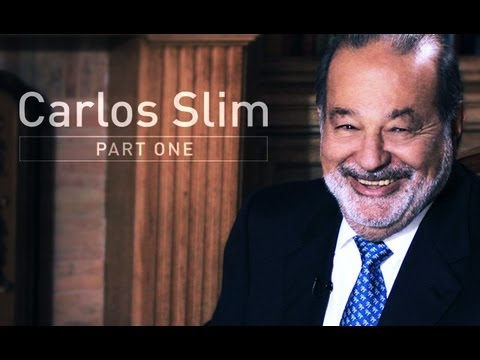 Richest Man in the World - Carlos Slim Interview Part 1 | Larry King ...