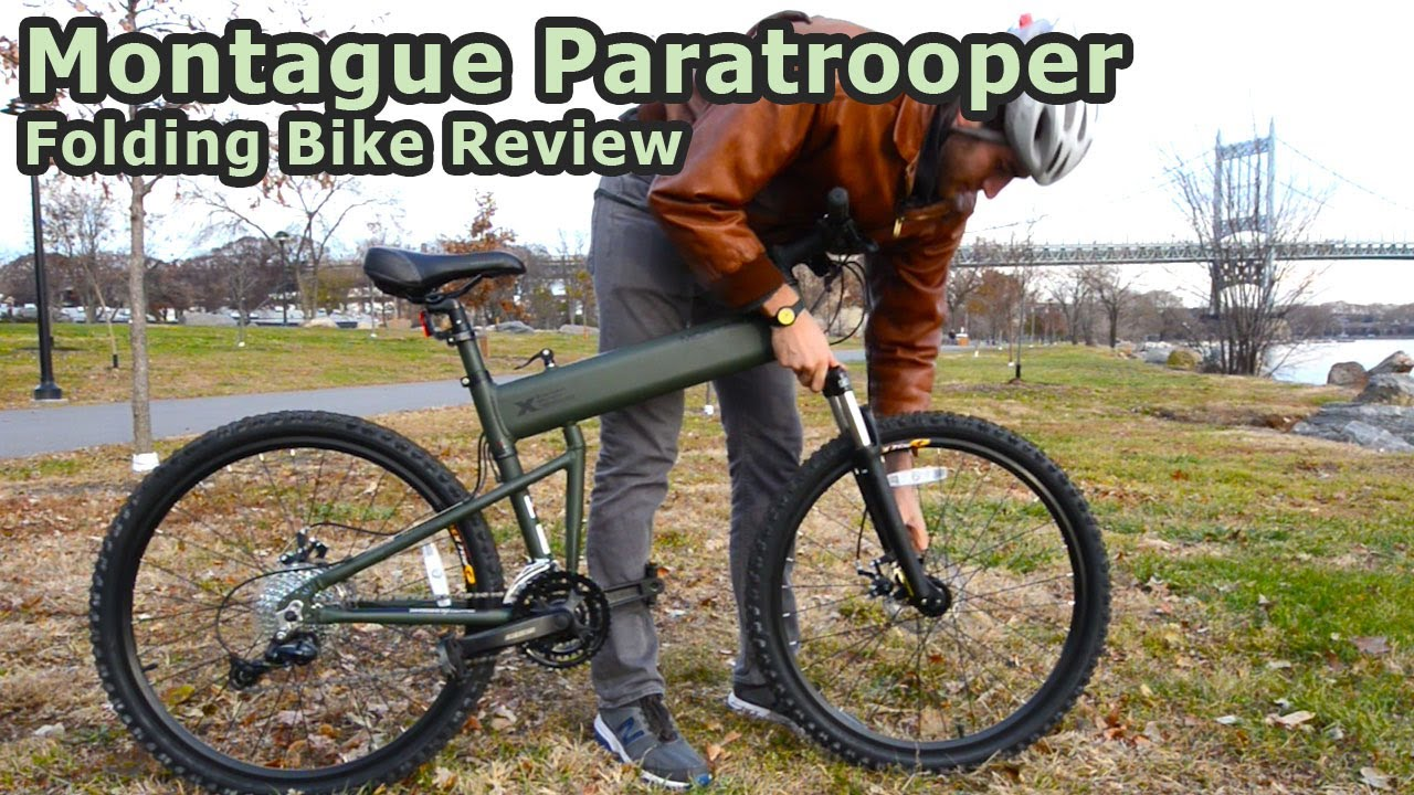 Montague Paratrooper Folding Bike Review Youtube