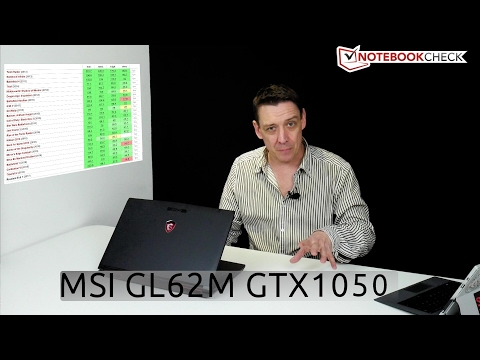 MSI GL62M budget gaming laptop review score 78 / 100