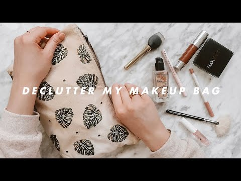 CLEAR OUT & DECLUTTER MY EVERYDAY MAKEUP BAG | I Covet Thee