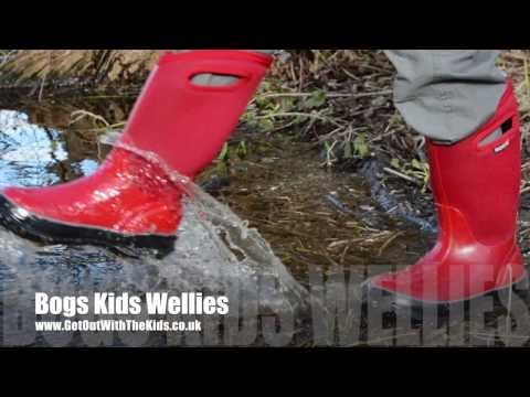video Bogs: A new sort of boot for kids (and warm too)