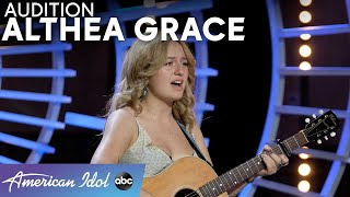 A Cut-Through Voice! Althea Grace Sings From The Heart - American Idol 2021
