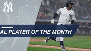Didi Gregorius is April 2018 AL Player of the Month