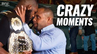 10 of the CRAZIEST Moments During a UFC Press Conference