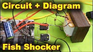 Stun Gun Circuit Schema Diagram - The King of Homemade