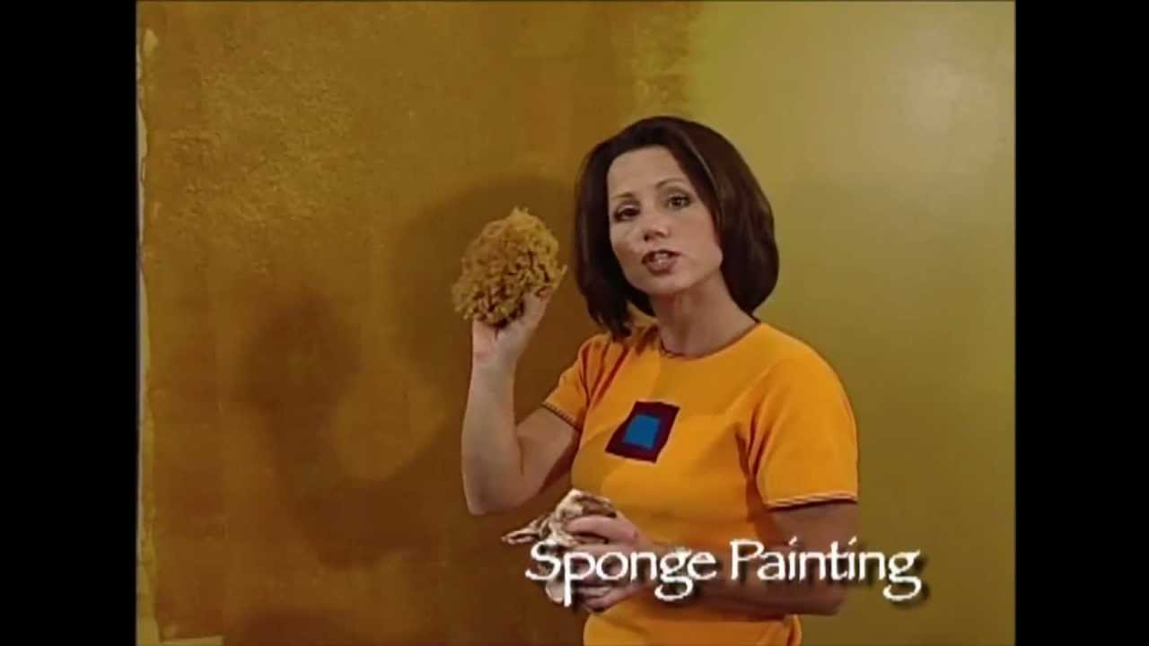 How To Faux Finish Step Instruction Sponge Painting With